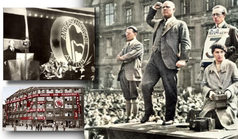 Georges Gastaud adresse un message de fraternité franco-allemande résolument antifasciste à l'occasion de la cérémonie d'anniversaire d'Ernst Thälmann à Berlin.