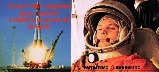 12 avril 1961: il y 60 ans Gagarine dans l'espace!