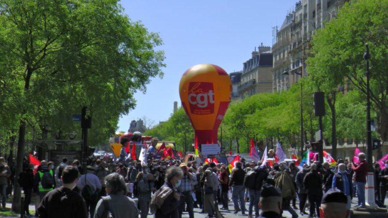 #1erMai la colère gronde, des manifestations fortes, les militants du PRCF présents partout en France.