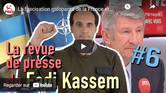 La fascisation galopante de la France et de l'Europe – #LRVP de Fadi Kassem [6]