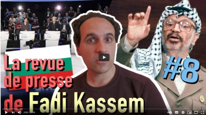 Palestine, Bulgarie et souveraineté – #LRVP de #FadiKassem [8]