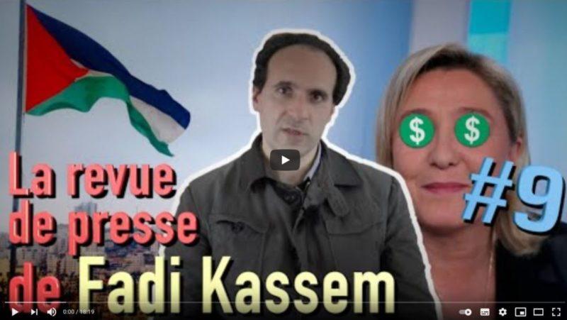 Palestine (bis), Fascisation, et Grève à Metz – #LRVP de #FadiKassem [9]