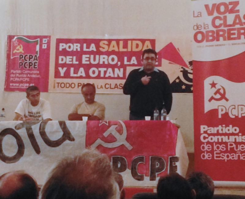 Interview exclusive de Julio Díaz, secrétaire général du PCPE