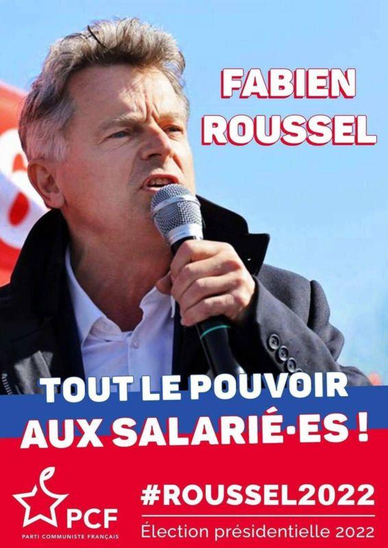 A propos d'une affiche racoleuse et pseudo-léniniste de F. Roussel