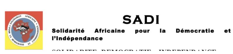 MALI : Déclaration du Parti SADI suite aux évènements du 24 mai 2021