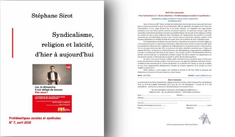Syndicalisme, religion et laïcité, d'hier à aujourd'hui – par Stéphane Sirot