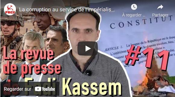 La corruption au service de l'impérialisme et de la fascisation – #LRVP de #FadiKassem n°11 #FK2022 #Alternative #RougeTricolore
