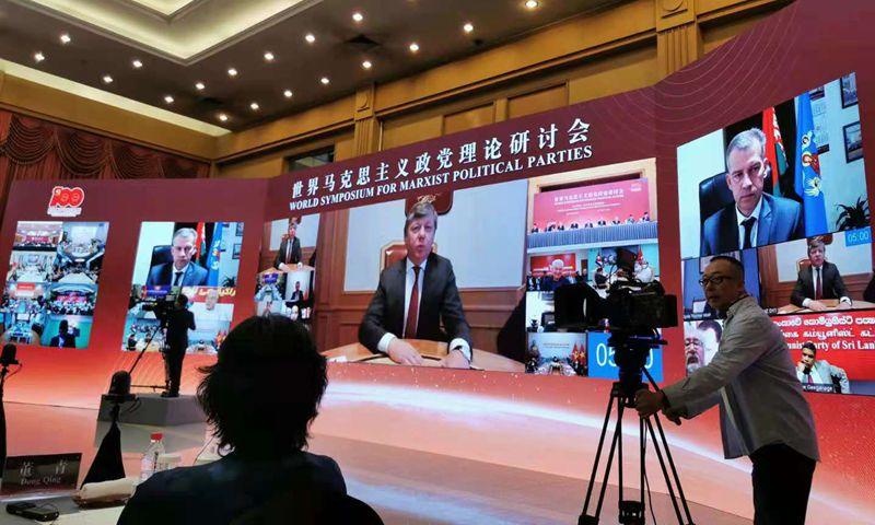 Face à la nouvelle guerre froide Xi Jinping et le PC chinois réunissent 58 partis communistes.
