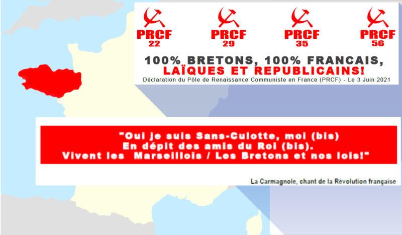 100% bretons, 100% français, laïques et républicains ! #Tract
