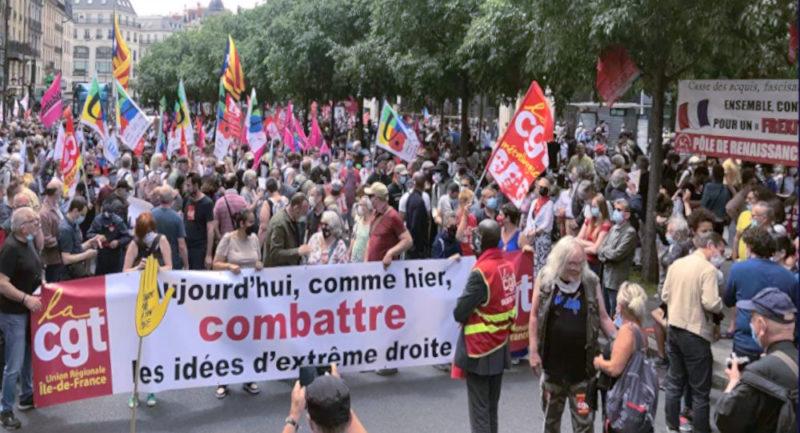150 000 manifestants contre la fascisation