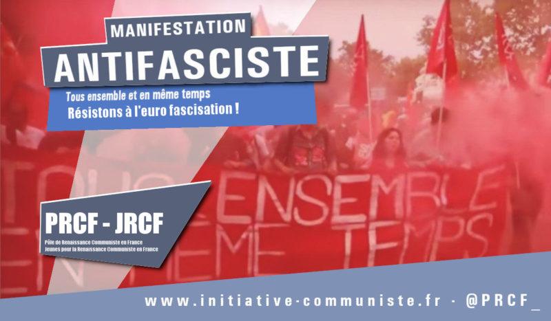 Face à la macro-fascisation en cours, le sursaut nécessaire de tous les antifascistes sincères ! #marchedeslibertés #Alternative #RougeTricolore #FK2022