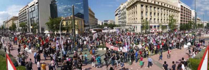 L'euro-gouvernement d'Athènes imite Hollande-Valls et Macron-Philippe: les travailleurs sont attaqués et leurs droits démantelés!