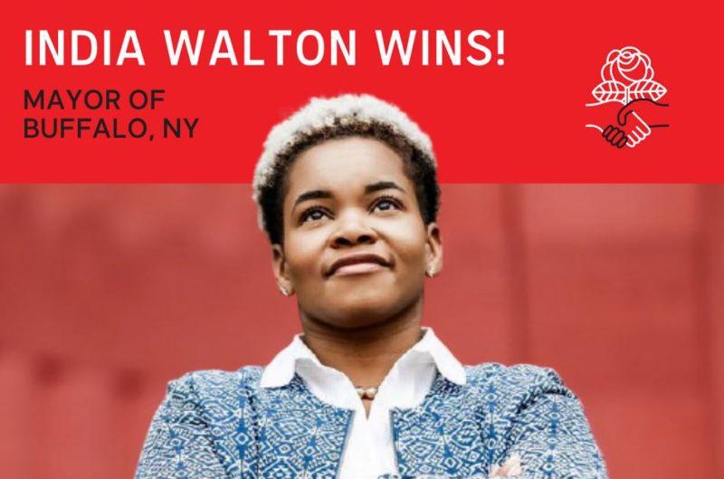 India Walton, une socialiste en voie de devenir maire de Buffalo aux États-Unis