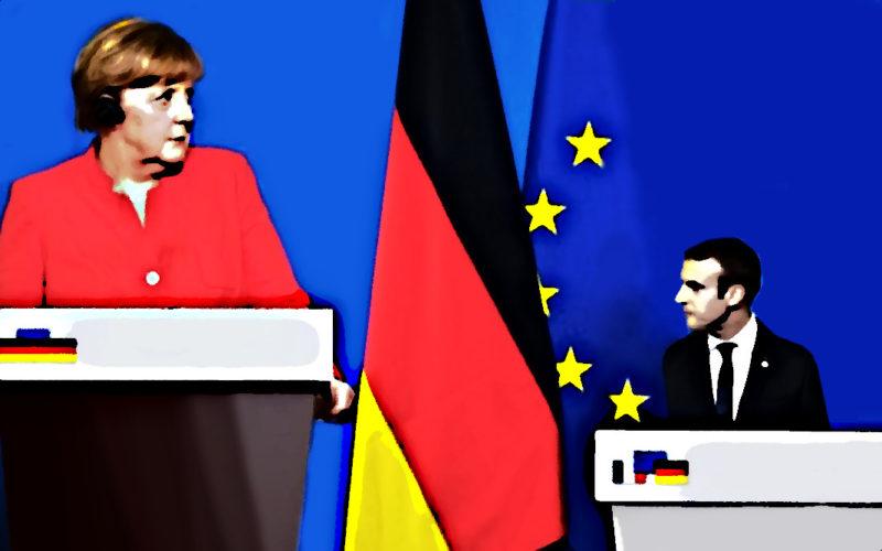 Cap vers l'euro-évaporation de la France ! Après Thiers et Pétain, Macron et ses satellites capitulent devant l'Allemagne