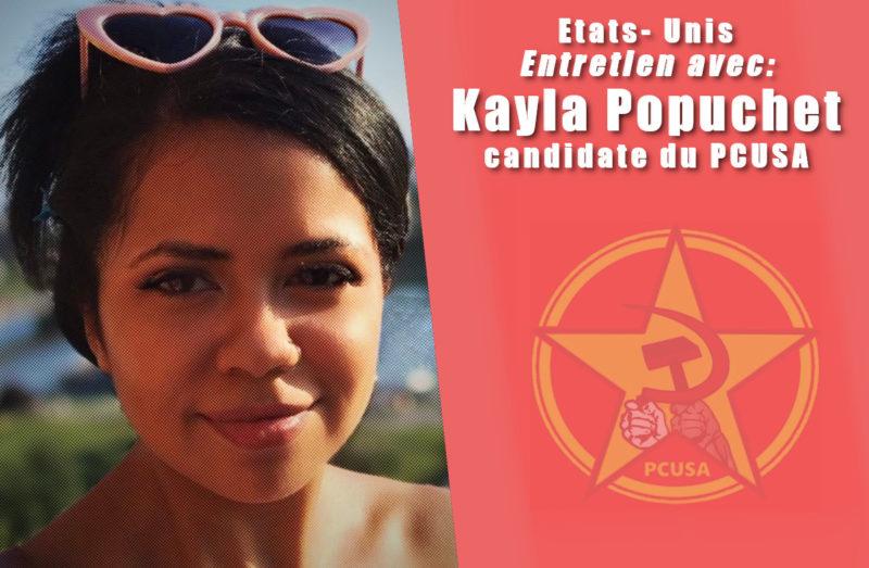 Entretien avec Kayla Popuchet, candidate du PCUSA