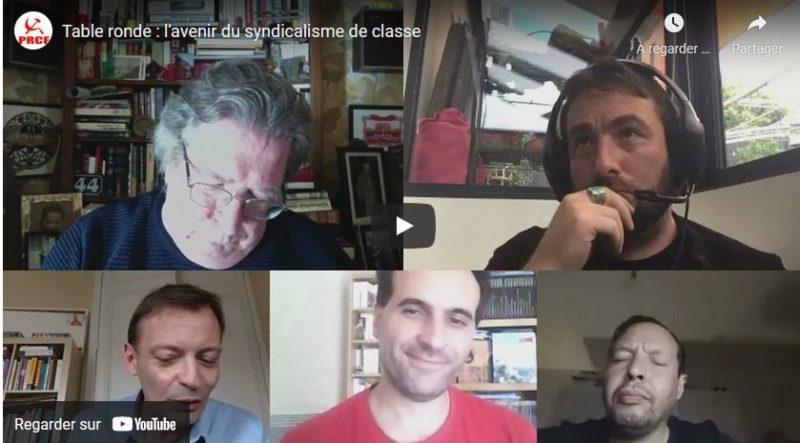 Table ronde : l'avenir du syndicalisme de Classe #vidéo