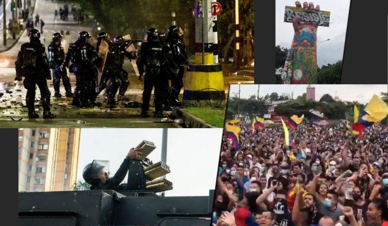 Colombie : Guerre totale contre le mouvement social