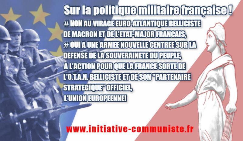 Sur la politique militaire française ! #14juillet alternative #rougetricolore