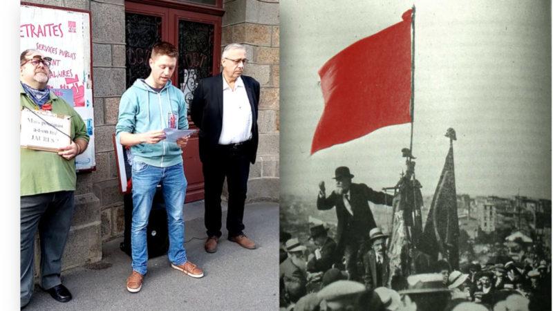Pour la paix, hommage à Jaurès : «la souveraineté nationale est le socle de l'émancipation sociale»