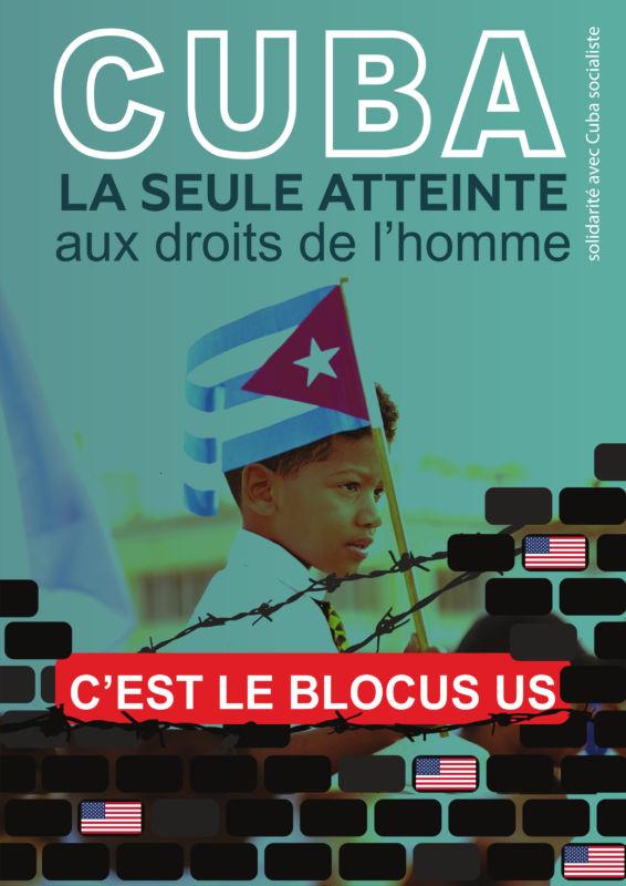 Solidarité sans réserve avec le peuple et les communistes cubains : le PRCF collecte des fonds.