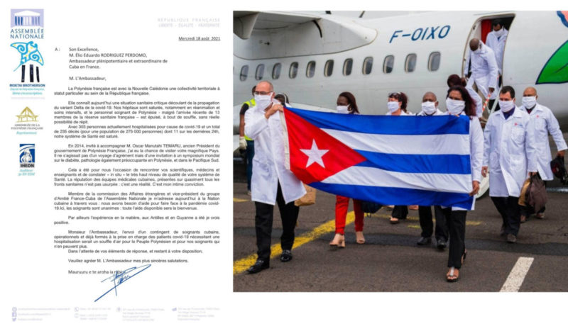 Face à l'épidémie de covid-19, la Polynésie française demande l'aide de Cuba