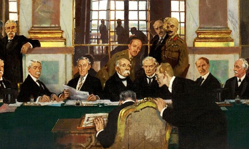 Ruptures et continuités dans la question d'Orient : Les alliances de la Première guerre mondiale et leurs suites immédiates après la défaite des empires centraux et la chute de l'Empire ottoman