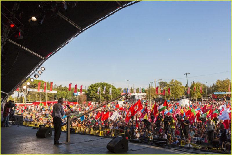 [Fête d'Avante] Le PC portugais : un parti respectable et donc respecté