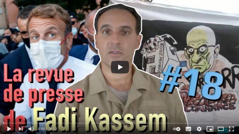 «C'est la rentrée… !» La revue de presse de Fadi Kassem [#alternative #RougeTricolore ]