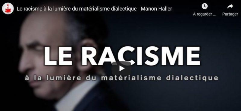 Le racisme à la lumière du matérialisme dialectique #vidéo #CaféMarxiste