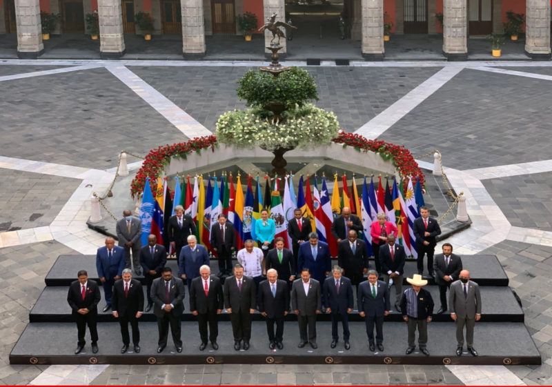 Au Mexique, la CELAC avec le Pérou, Cuba, la Bolivie, le Venezuela montre la voie d'une Amérique Latine anti impérialiste et solidaire