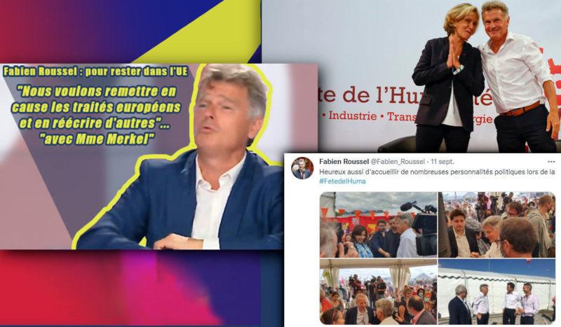 De la lutte finale à la chute finale : Fabien Roussel, ou « le défi des Jours heureux » … au service de l'intouchable « construction européenne » du capital