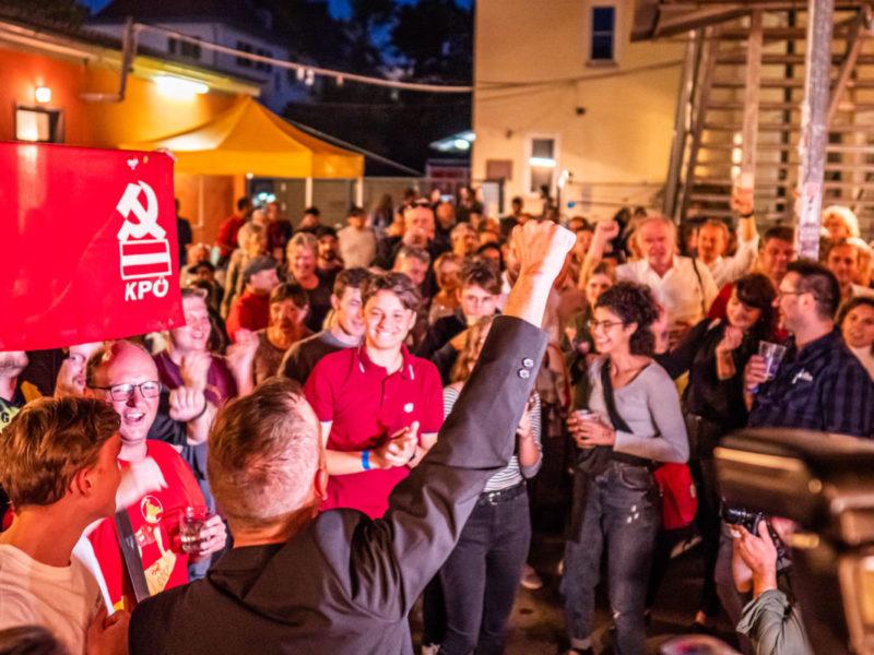 Les communistes remportent Graz en Autriche, progressent en Allemagne !