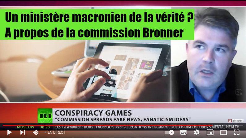Un ministère macronien de la vérité ? A propos de la commission Bronner