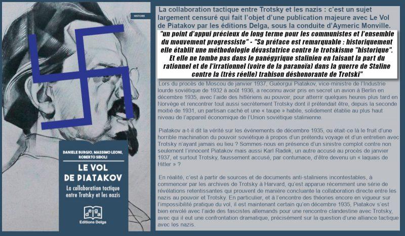 Histoire – Sur la collaboration tactique entre Trotsky et les nazis