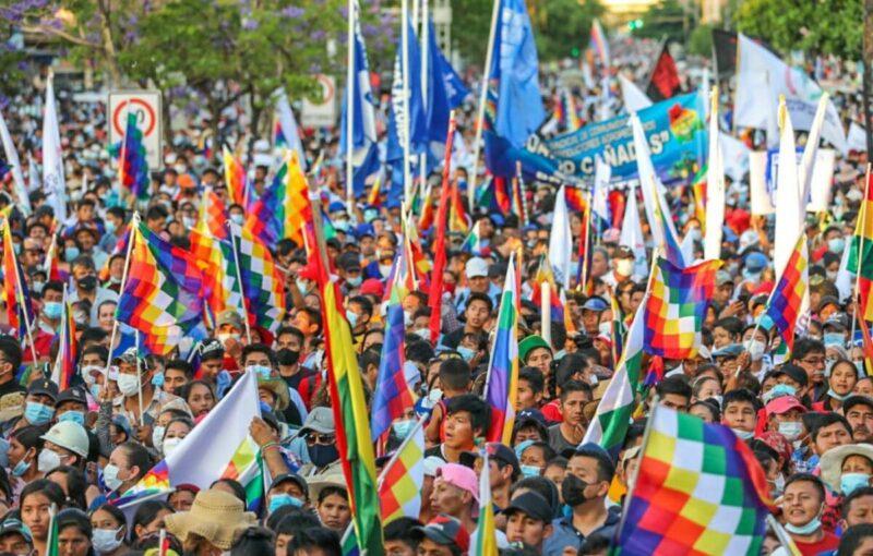 Bolivie : La mobilisation populaire et patriotique répond à la nouvelle tentative de déstabilisation lancée par l'extrême droite aux ordres de Washington