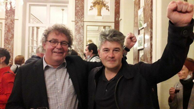 Rencontre avec P Köbele, solidarité avec le DKP