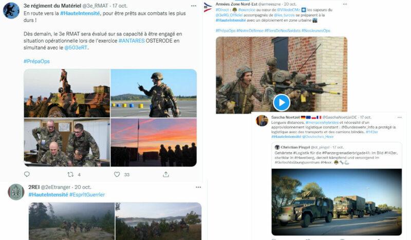 Sur Twitter, la propagande de guerre à haute intensité du chef d'état major Burkhard