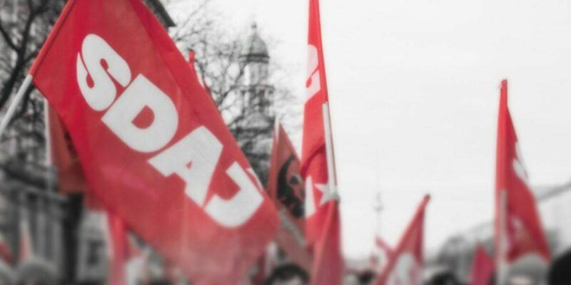 «Que ce soit en France ou en Allemagne, nous sommes unis dans la lutte contre les attaques toujours plus nombreuses contre la classe ouvrière» le message de la SDAJ aux JRCF