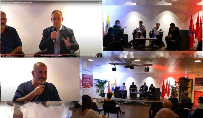 «Poursuivre le chemin de la lutte» : l'Union des Syndicats de Monaco, avec la CGT  13 débat du syndicalisme.